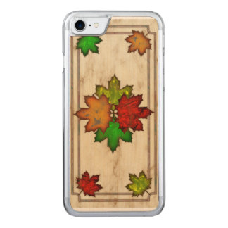 紅葉 CARVED iPhone 8/7 ケース