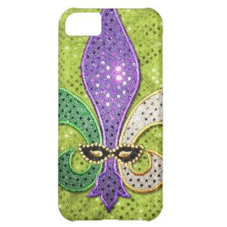 (紋章の)フラ・ダ・リのニュー・オーリンズの宝石の輝き iPhone5Cケース