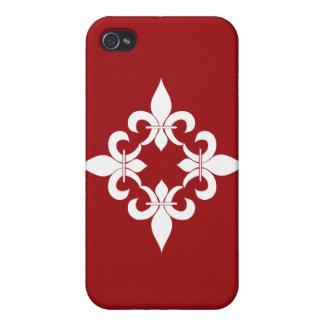 (紋章の)フラ・ダ・リのルビー iPhone 4/4Sケース