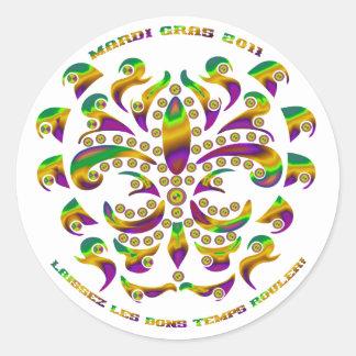 (紋章の)フラ・ダ・リの謝肉祭2011 V-1 ラウンドシール