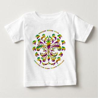 (紋章の)フラ・ダ・リの謝肉祭2011 V-2 ベビーTシャツ