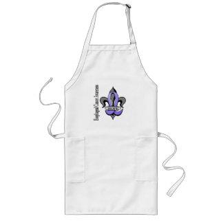 (紋章の)フラ・ダ・リの食道の蟹座の希望 ロングエプロン