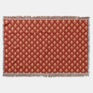 (紋章の)フラ・ダ・リパターン スローブランケット