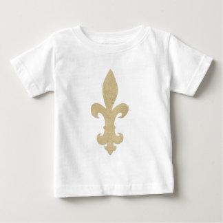 (紋章の)フラ・ダ・リ ベビーTシャツ
