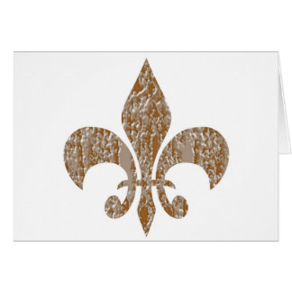 (紋章の)フラ・ダ・リ:  刻まれる金ゴールドnの銀 カード