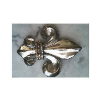 (紋章の)フラ・ダ・リENの大理石のキャンバスプリントのプリント キャンバスプリント
