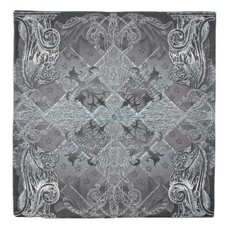 紋章学のクイーンサイズの羽毛布団カバー 掛け布団カバー