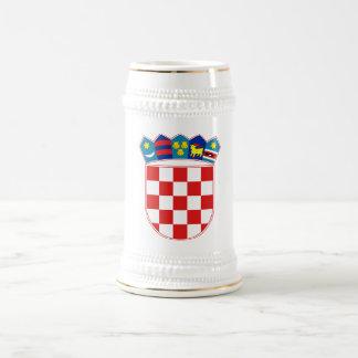 紋章学の記号クロアチアの公式の紋章付き外衣 ビールジョッキ