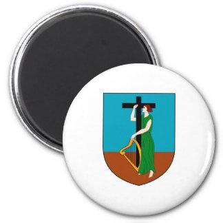 紋章学の記号モンセラートの公式の紋章付き外衣 マグネット