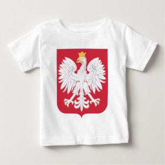 紋章学Symboポーランドのポーランドの公式の紋章付き外衣 ベビーTシャツ