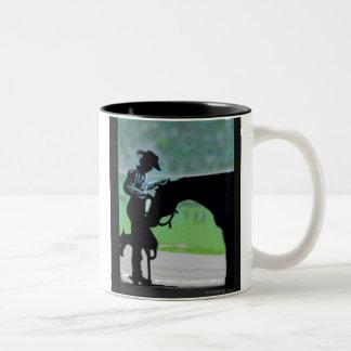 納屋のタイムのマグ ツートーンマグカップ