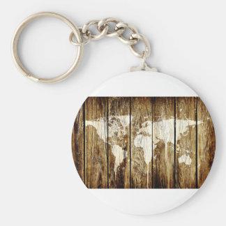 納屋の世界地図2 キーホルダー
