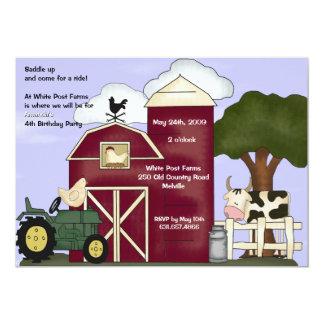 納屋の招待状 カード