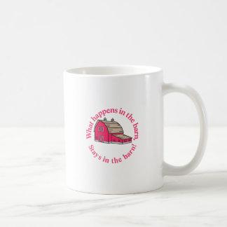 納屋の滞在! コーヒーマグカップ