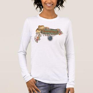 納屋周囲の庭のプリンセスの女性ティー>一突きSz/Style/Colr 長袖Tシャツ