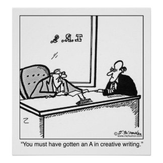 納税申告の創造的な執筆 ポスター
