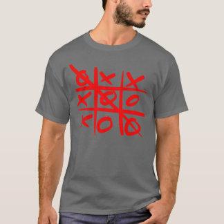 純真なデザイン、汚いtic TACのつま先 Tシャツ