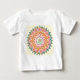 純粋でなだめるようなエネルギー星の紋章 ベビーTシャツ