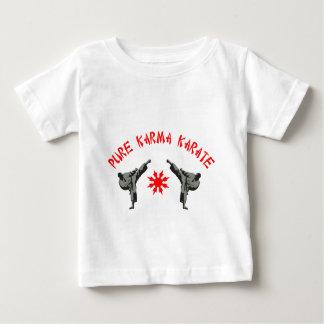 純粋なカルマの空手 ベビーTシャツ