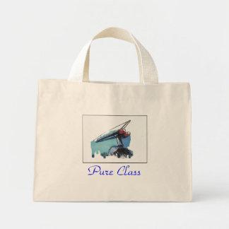 純粋なクラス ミニトートバッグ