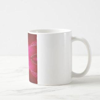 純粋なバラの花びらの芸術- Blood Red n PinkRose コーヒーマグカップ