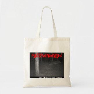 純粋なミシガン州Dogmanの黒い殻の写真U.P. Bags トートバッグ