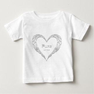 純粋な前部 ベビーTシャツ