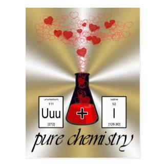 純粋な化学 ポストカード