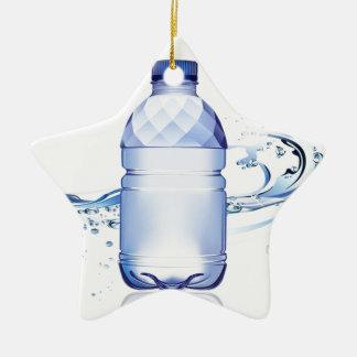 純粋な水差しのデザイン 陶器製星型オーナメント