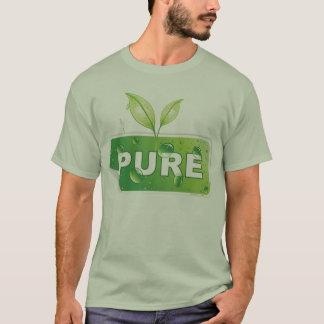 純粋な緑の環境のワイシャツ Tシャツ