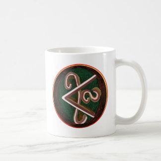 純粋な芸術的-霊気のKarunaの記号 コーヒーマグカップ