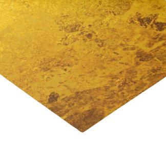 純粋な金ぱくパターン + あなたの文字/写真 薄葉紙