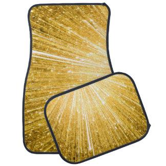 純粋な金ゴールドパターン/金シャワー カーマット