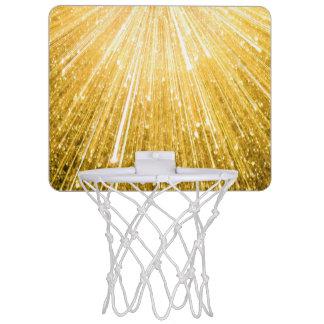 純粋な金ゴールドパターン/金シャワー ミニバスケットボールゴール