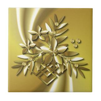 純粋な金ゴールド タイル