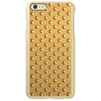 純粋な金真珠パターン + あなたの文字/写真 INCIPIO FEATHER SHINE iPhone 6 PLUSケース