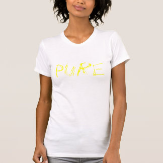 純粋な黄色 Tシャツ