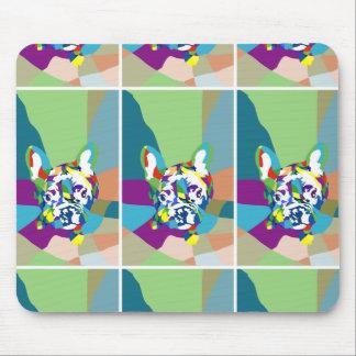 純粋なFrenchieパターン マウスパッド