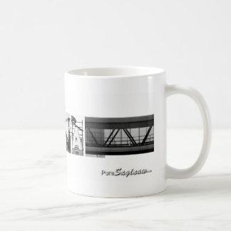 純粋なSaginawの写真の手紙 コーヒーマグカップ