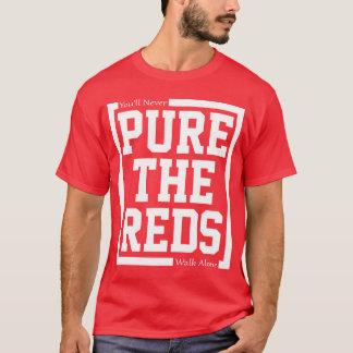 純粋赤 Tシャツ