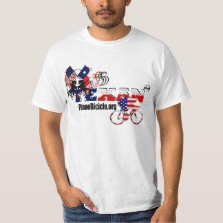 純血種のテキサス州のサイクリングの経済のTシャツ Tシャツ