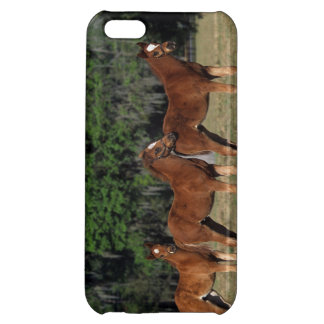 純血種の子馬のグループ iPhone5C カバー