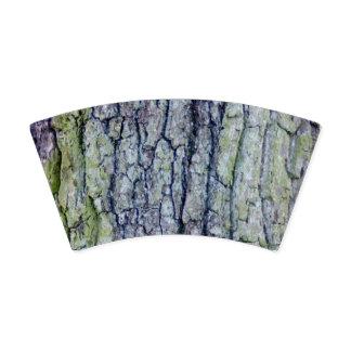 紙コップ: 樹皮のデザイン 紙コップ