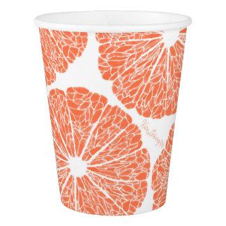 紙コップ-適するべきグレープフルーツ 紙コップ
