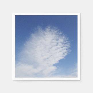 紙ナプキンの美しい雲 スタンダードカクテルナプキン