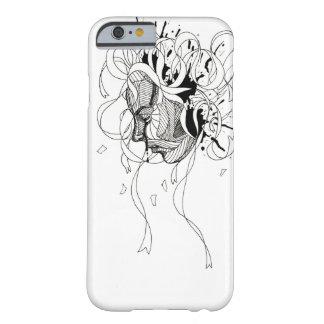 紙吹雪の女の子のiPhone6ケース Barely There iPhone 6 ケース