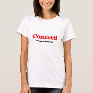 紙吹雪の改革 Tシャツ