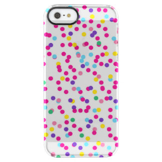 紙吹雪の点 クリア iPhone SE/5/5sケース