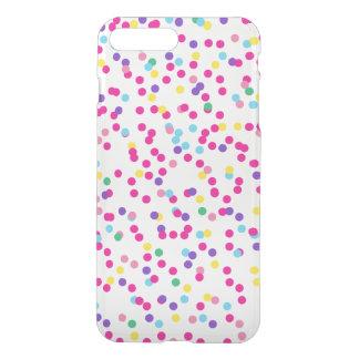 紙吹雪の点 iPhone 8 PLUS/7 PLUS ケース