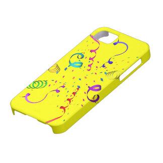 紙吹雪の爆発iPhone5カバー iPhone SE/5/5s ケース